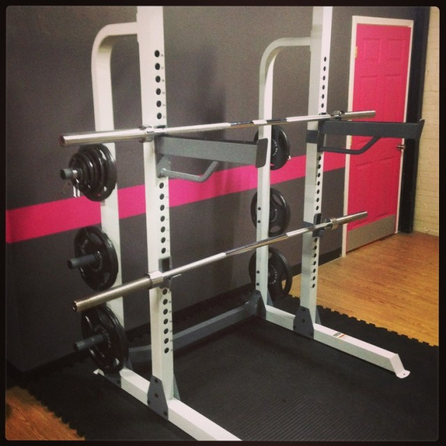 New Squat Rack! It's on!