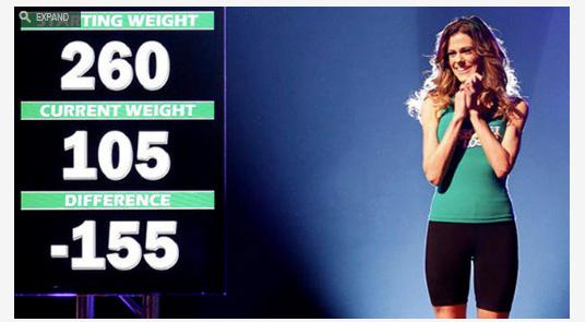 Rachel Frederickson won Biggest Loser 2014.