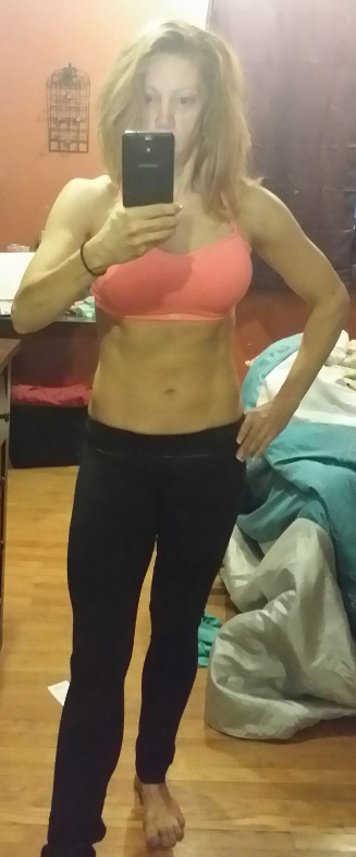 ab check. 7 weeks out.