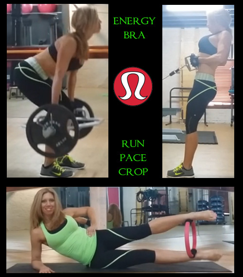 Run pace crop is great for weight training!