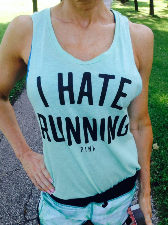 I hate running! But.. I love this tank and Lulu Speeds!