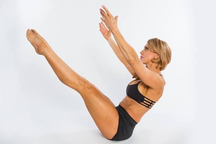 Rocked some pilates. That''s my Lululemon Hot spell bra.