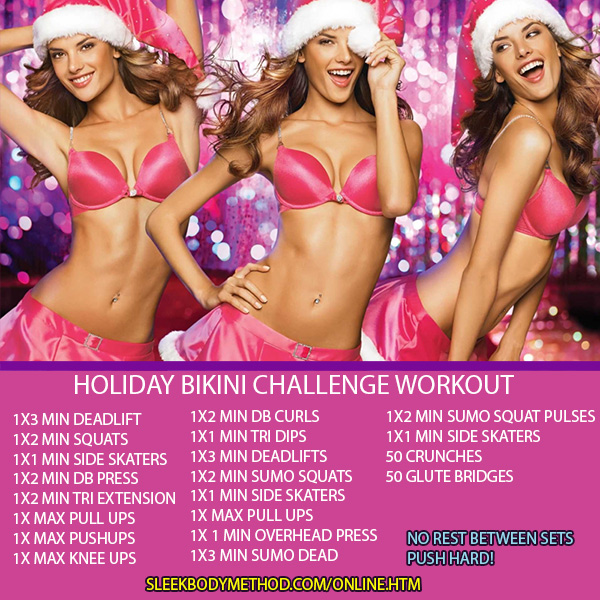 HOLIDAY WORKOUT!