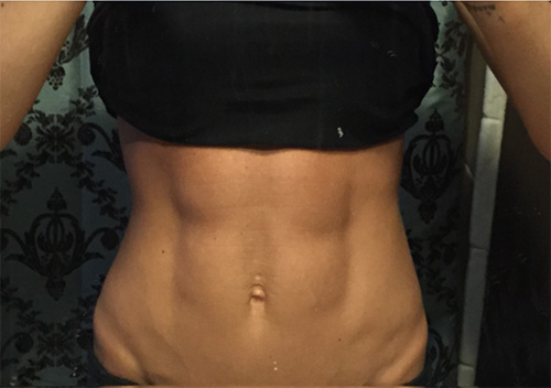 Abs: no starving here