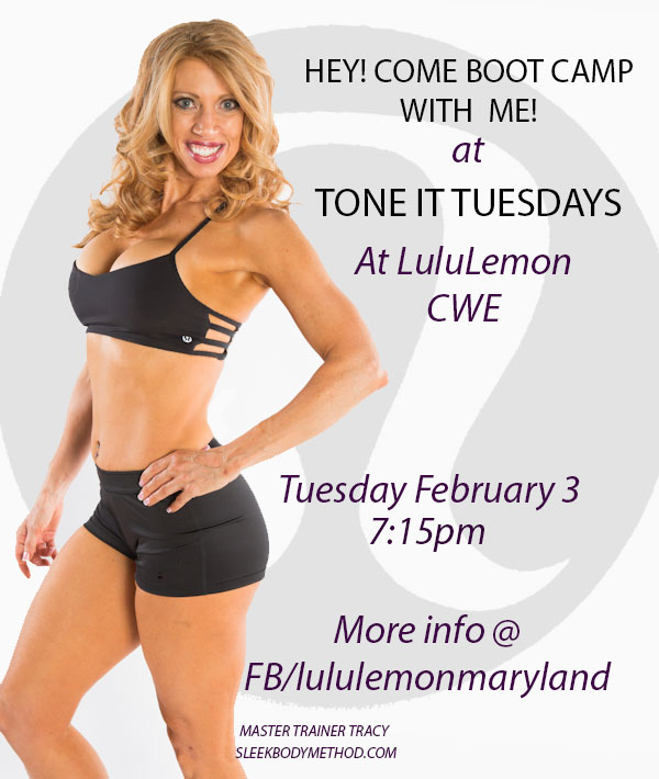come sweat with me!!